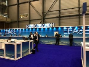 ASM visiting EBACE 2018 in Geneva